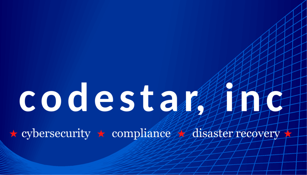 Codestar in Vermont: Cybersecurity, Compliance, Disaster recovery